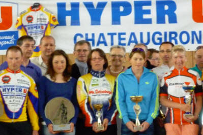 Pascale Jeuland World Track Champion ~ 2nd Left